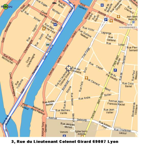 Girard plan accès